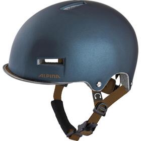Alpina Grunerlokka Kask rowerowy, blue